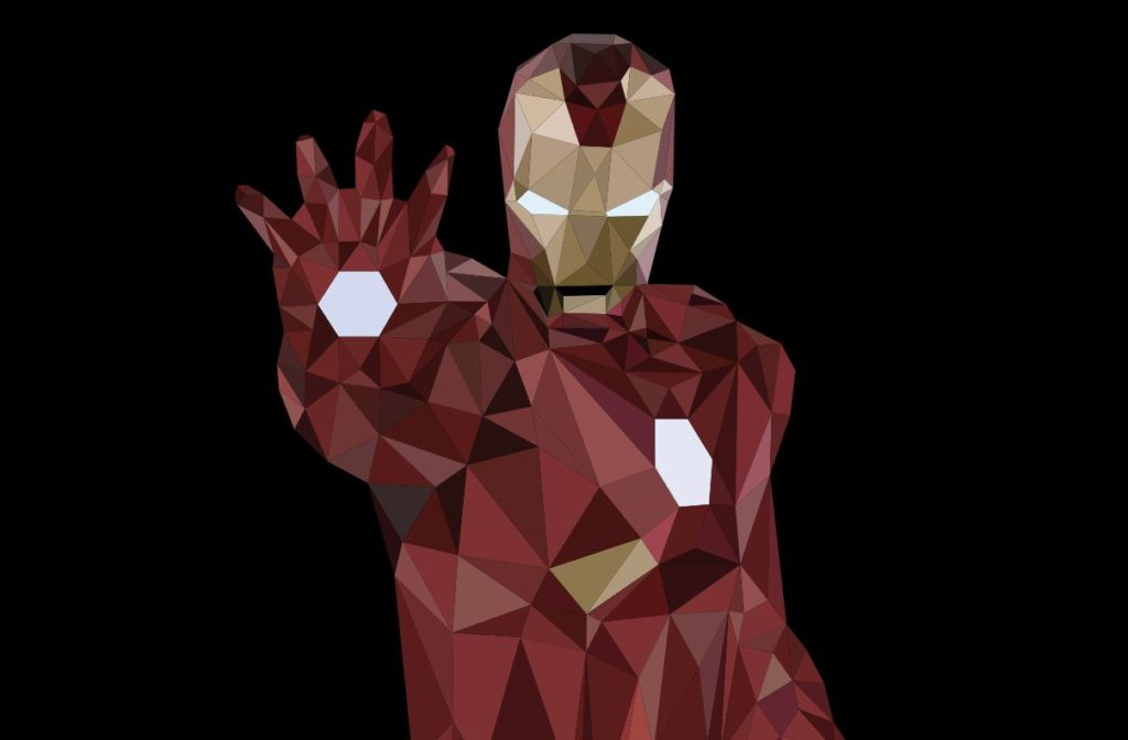 SVG Animated Iron Man