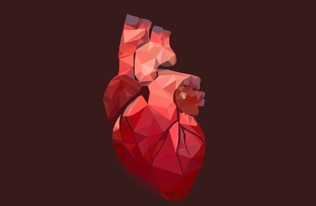 SVG Animated Low Beating Heart