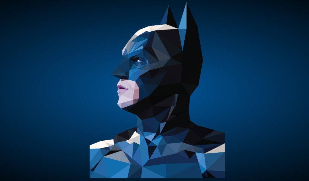 SVG Polygon Animations Batman